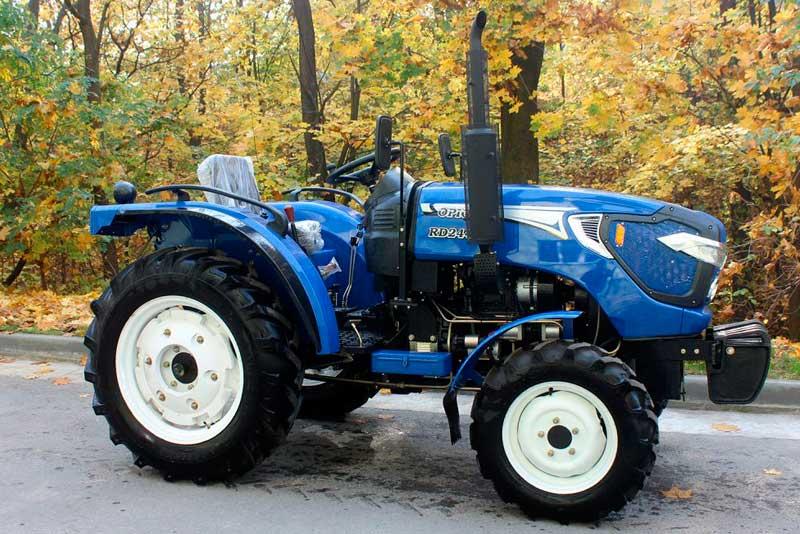 Мини-трактор и его преимущества
